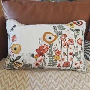Target floral decorative throw pillow